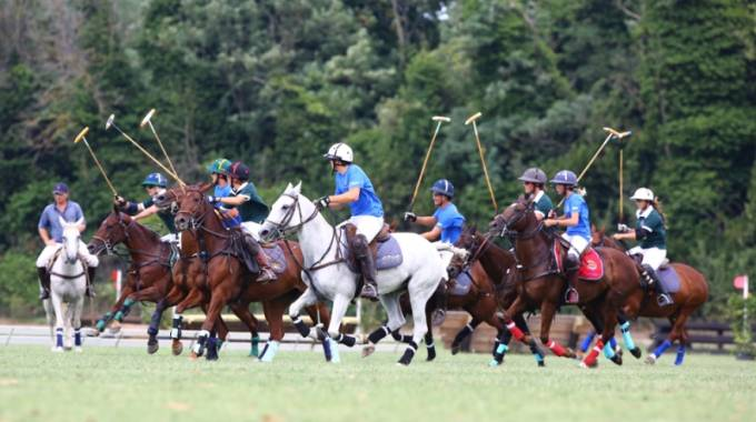 Partita di Polo alle Ponyadi 2018 (FISE/Plastic Foto di Marco Villanti)