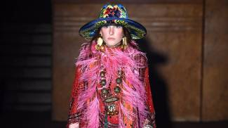 Una creazione di Gucci primavera-estate 2019 (Getty Images for Gucci)