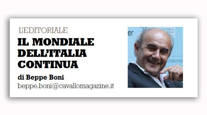Il mondiale dell'Italia continua, l'editoriale di Cavallo Magazine, 4 ottobre in edicola