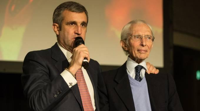 Marco Di Paola (a sinistra) con Vittorio Orlandi (ph. Marta Fusetti)