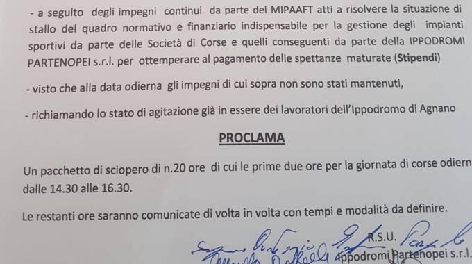 Calendario Corse Capannelle.Ippica Scioperi Con Effetto Domino