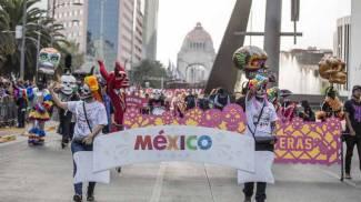La parata di Città del Messico