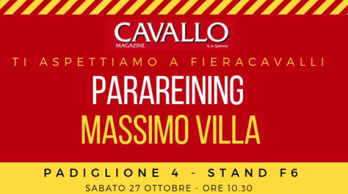 Fieracavalli: Parareining sotto i riflettori! Cavallo Magazine - Pad 4, stand F6 -