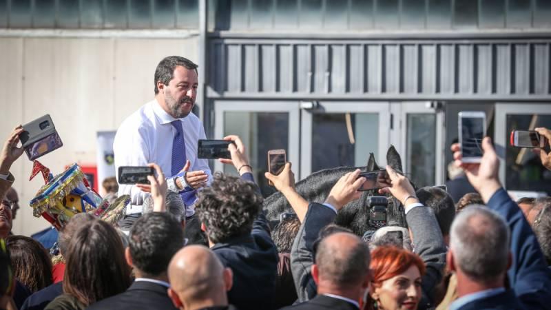 Il Ministro degli Interni Matteo Salvini ©Massimo Argenziano/Cavallo Magazine