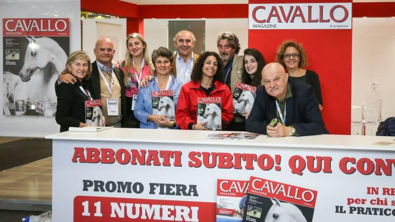 Lo staff di Cavallo Magazine ©Massimo Argenziano/Cavallo Magazine