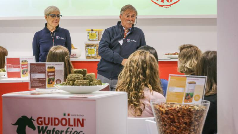 Workshop Gianni Guidolin, Fieracavalli 2018 ©Massimo Argenziano/Cavallo Magazine