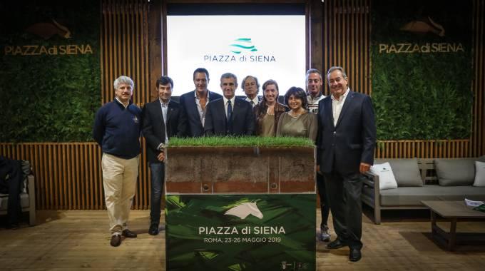 La squadra di Piazza di Siena 2019 @Massimo Argenziano