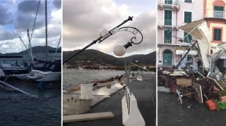 Da sin. il Muggiano e il lungomare di Spezia (Spezzino Vero) e Lerici (Frascatore)
