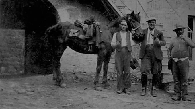 Vittorio Inzani, medico condotto di Morfasso negli anni '20 e la sua Bardigiana Dora