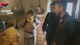 Monteviasco, i carabinieri si accertano che i residenti stiano bene