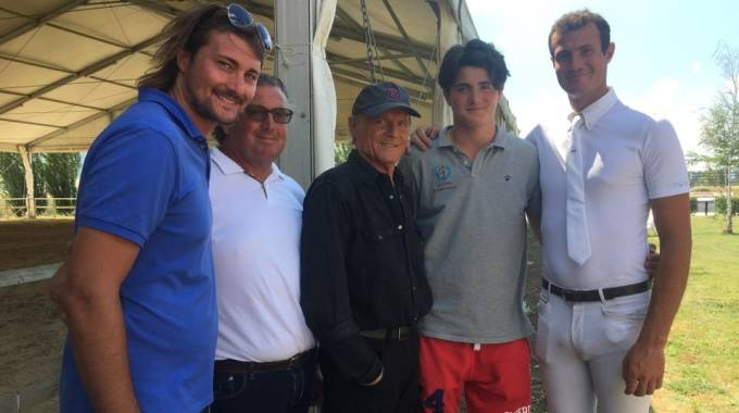 Anche Terence Hill a Horses Le lame Sporting Club, foto ©Marco Proli