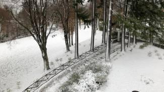 Prima nevicata in Valbisenzio
