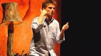 Maurizio Colombi in scena