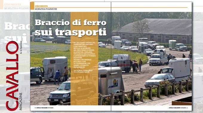 Cavallo Magazine: inchiesta sulla circolare trasporto equidi