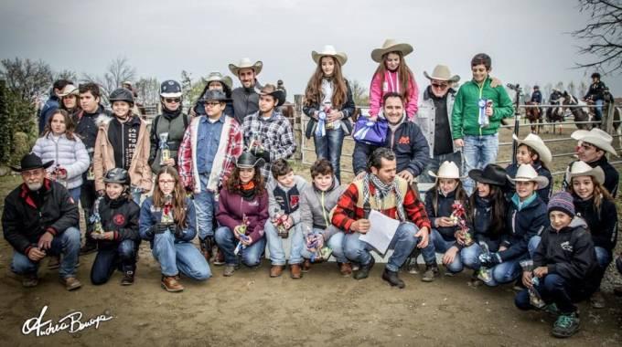 Sorrisi di gruppo a Maranello, photo Andrea Bonaga