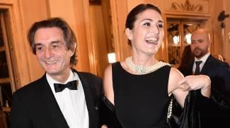 Attilio Fontana e la figlia alla Prima della Scala