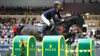 Swiss hero Steve Guerdat steals the show in the Rolex IJRC Top Ten Final