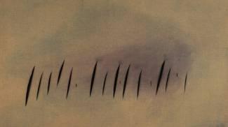 Concetto spaziale di Lucio Fontana