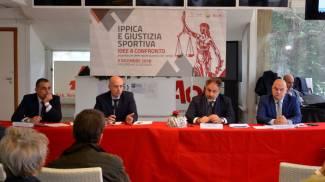 """Ippodromo di Agnano: convegno  """"Ippica e giustizia sportiva"""""""