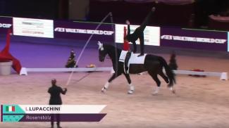Volteggio: Lupacchini domina la Fei World Cup a Salisburgo