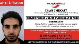 Cherif Chekatt, il killer di Strasburgo ricercato (Ansa)