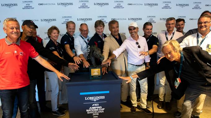 Counting down to the Longines FEI Jumping Nations Cup™ 2019 series ©Fei/JHollander