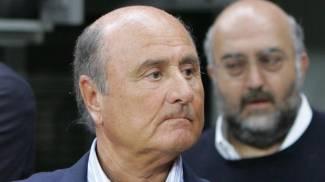 Piergiorgio Vellucci, titolare del 75% di quote del mobilificio Spar, in primo piano