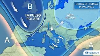 Mappa 3bmeteo.com