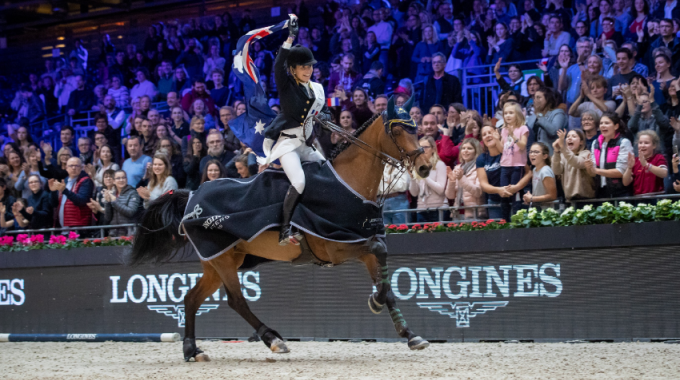Extraordinary line-up for the seventh edition of the 2019 Longines Masters of Hong Kong