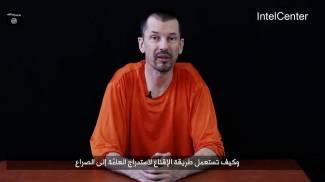 Il giornalista britannico John Cantlie (Ansa)