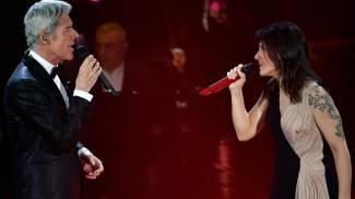 Elisa canta con Baglioni Luigi Tenco (Ansa)