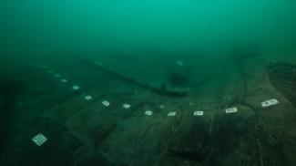 La nave ritrovata in Egitto (foto Christoph Gerigk/Franck Goddio/Hilti Foundation)