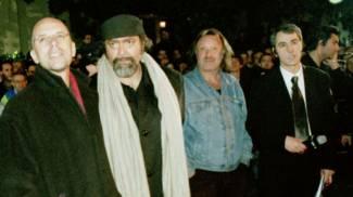 Salvatores, Abatantuono e Carlo Monni in diretta da Vergaio