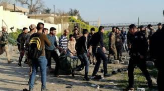 Naufragio nel fiume Tigri, Mosul (Ansa)