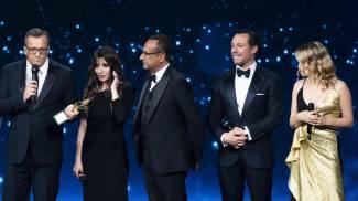 Il premio dello spettatore assegnato al regista Gabriele Muccino (Ansa)