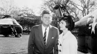 John F. Kennedy e Jacqueline Kennedy (Abbie Rowe)