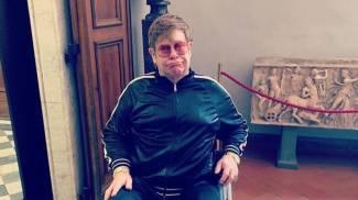 Elton John agli Uffizi