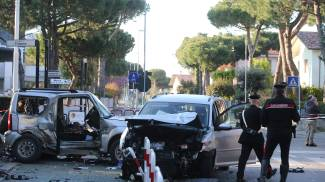 L'incidente a Pinarella