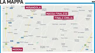 La mappa dell'inchiesta