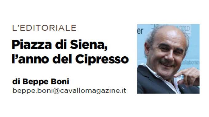 Piazza di Siena, l'anno del Cipresso