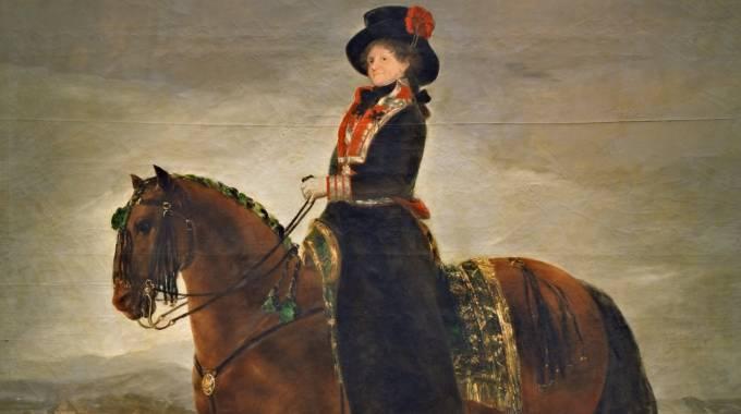 Una orgogliosa Maria Luisa di Parma, di Francisco Goya - Prado, Pubblico dominio