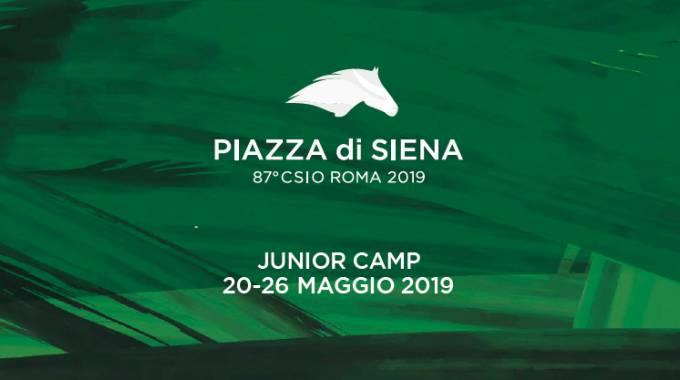 Piazza di Siena é anche Junior Camp, una serie di eventi per bambini e famiglie!