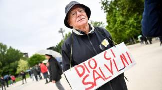 Manifestazione contro sovranisti