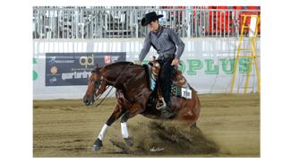 Salone del Cavallo Americano: i giovani reiners protagonisti!