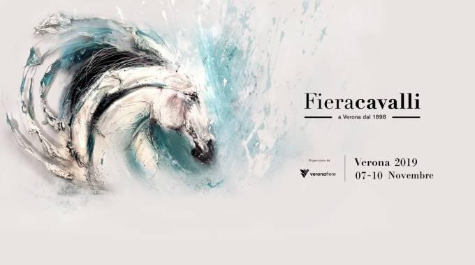 Il logo di Fieracavalli 2019