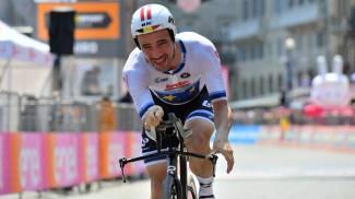 Victor Campenaerts in azione (LaPresse)