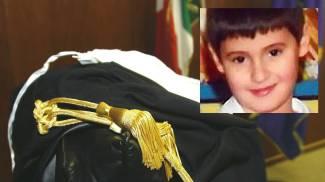 Bimbo morto per otite, condannati i genitori. Nel riquadro il piccolo Francesco Bonifazi
