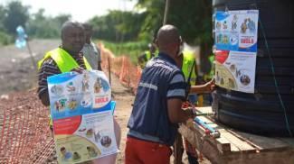 Ebola, profilassi in zona endemica (Alf Dire)