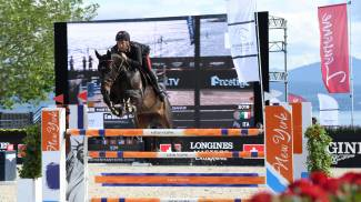 First podiums of the Longines Masters of Lausanne