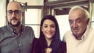 Federica, Roberto e Walter